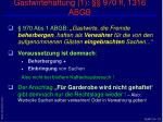 gastwirtehaftung 1 970 ff 1316 abgb