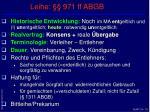 leihe 971 ff abgb