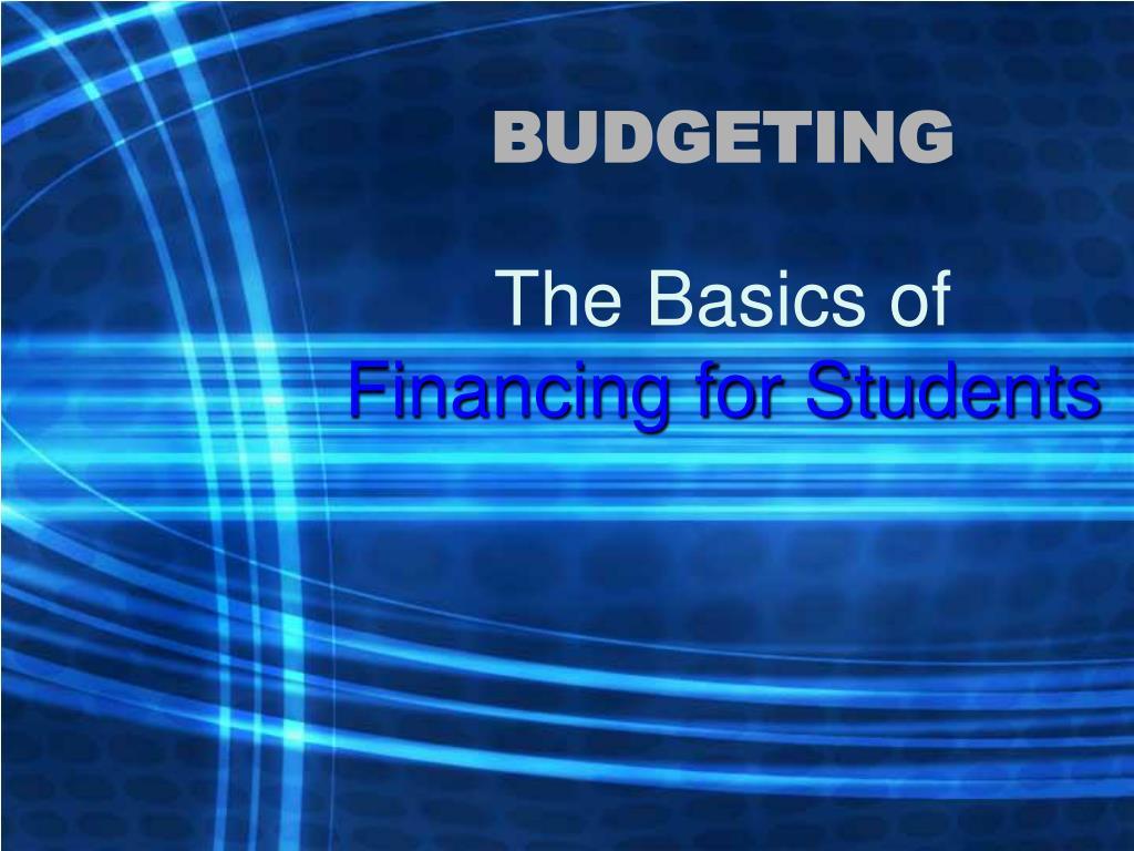 budgeting l.