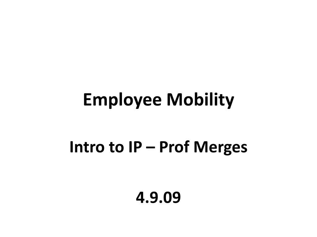 employee mobility l.