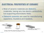 electrical properties of ceramic46