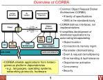 overview of corba
