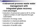 4 advanced process waste water management with integrated glaze recovery29