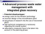 4 advanced process waste water management with integrated glaze recovery30