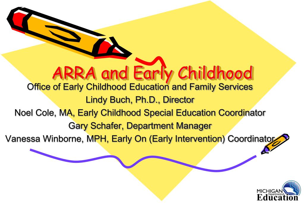arra and early childhood l.