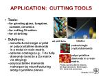 application cutting tools