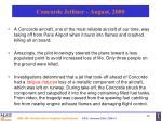 concorde jetliner august 2000