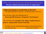mse 280 introduction to engineering materials because without materials there is no engineering44