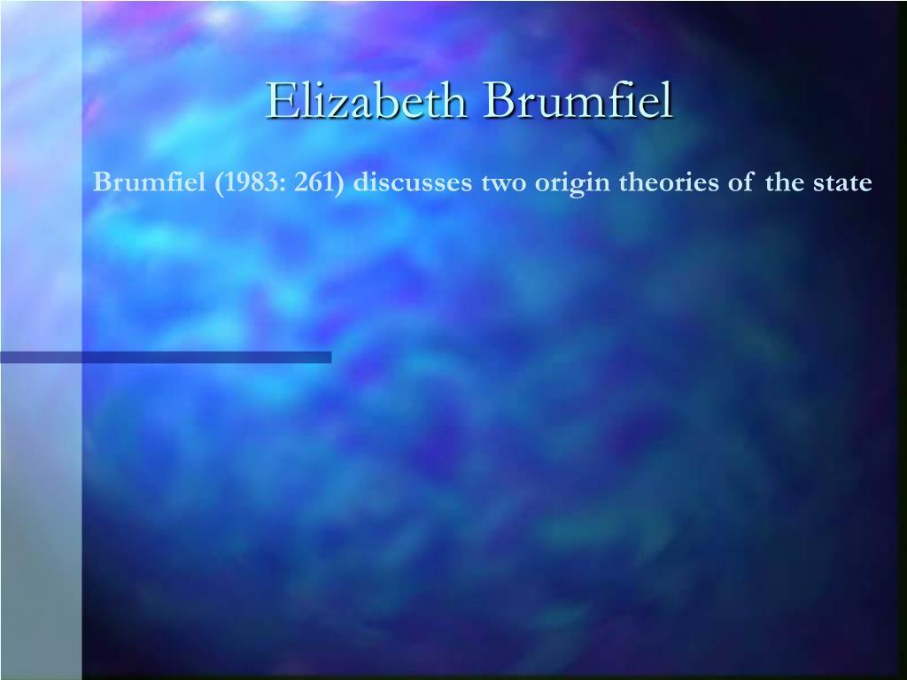 Elizabeth Brumfiel