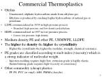 commercial thermoplastics