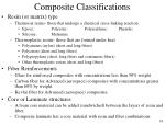 composite classifications48