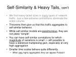 self similarity heavy tails con t25