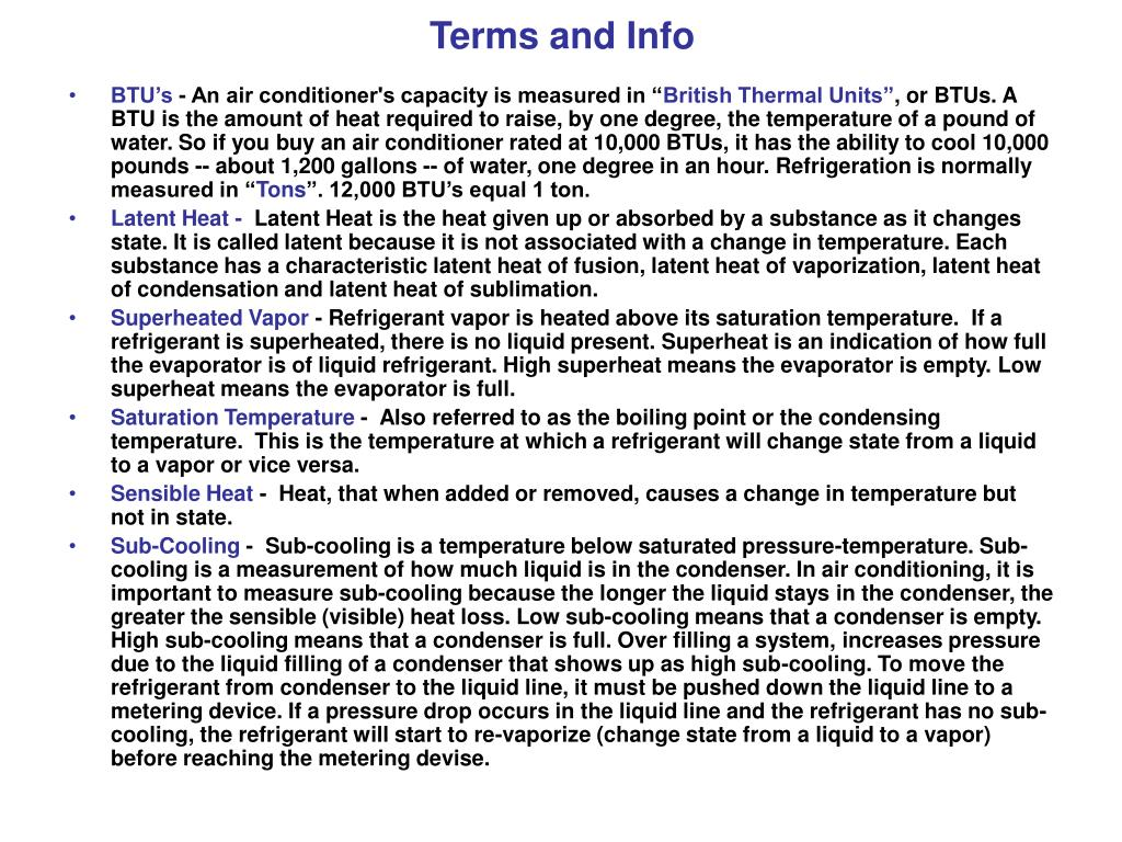 Terms and Info
