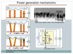 power generation mechanisms