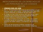 antecedentes de los derechos de las personas en los c digos civiles6
