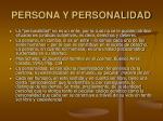 persona y personalidad20