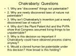 chakrabarty questions