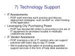7 technology support