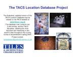 the tacs location database project7