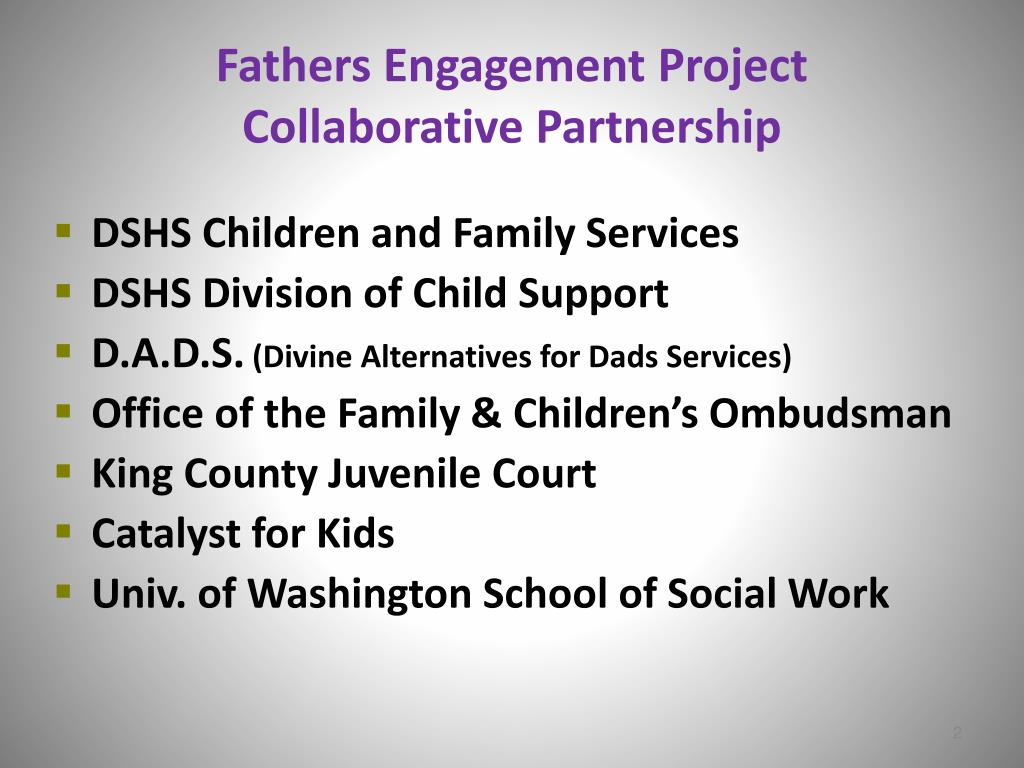 Fathers Engagement Project