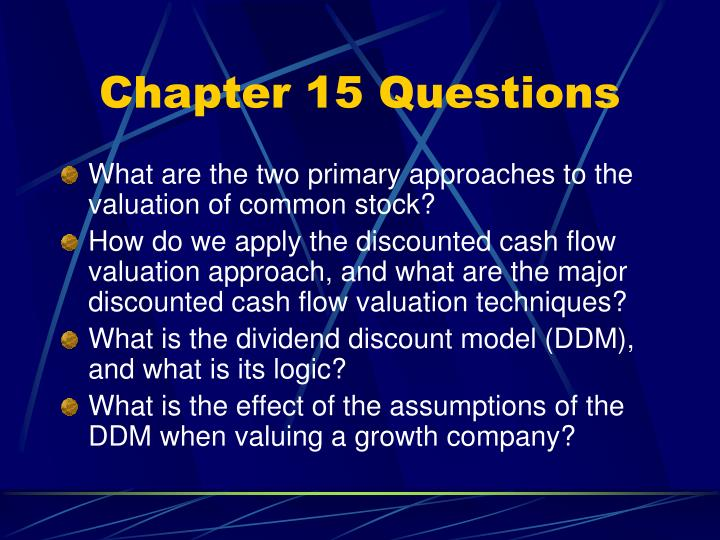 Chapter 15 questions3