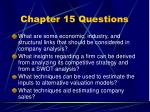 chapter 15 questions5