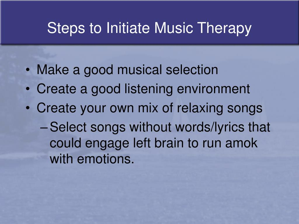 PPT - Music Therapy PowerPoint Presentation - ID:53221