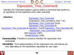 expression tree command