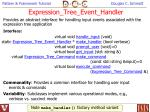 expression tree event handler