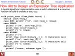 how not to design an expression tree application48