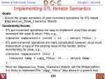 implementing stl iterator semantics