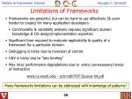 limitations of frameworks
