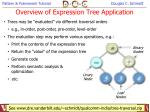 overview of expression tree application44