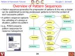 overview of pattern sequences24