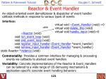 reactor event handler