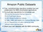 amazon public datasets
