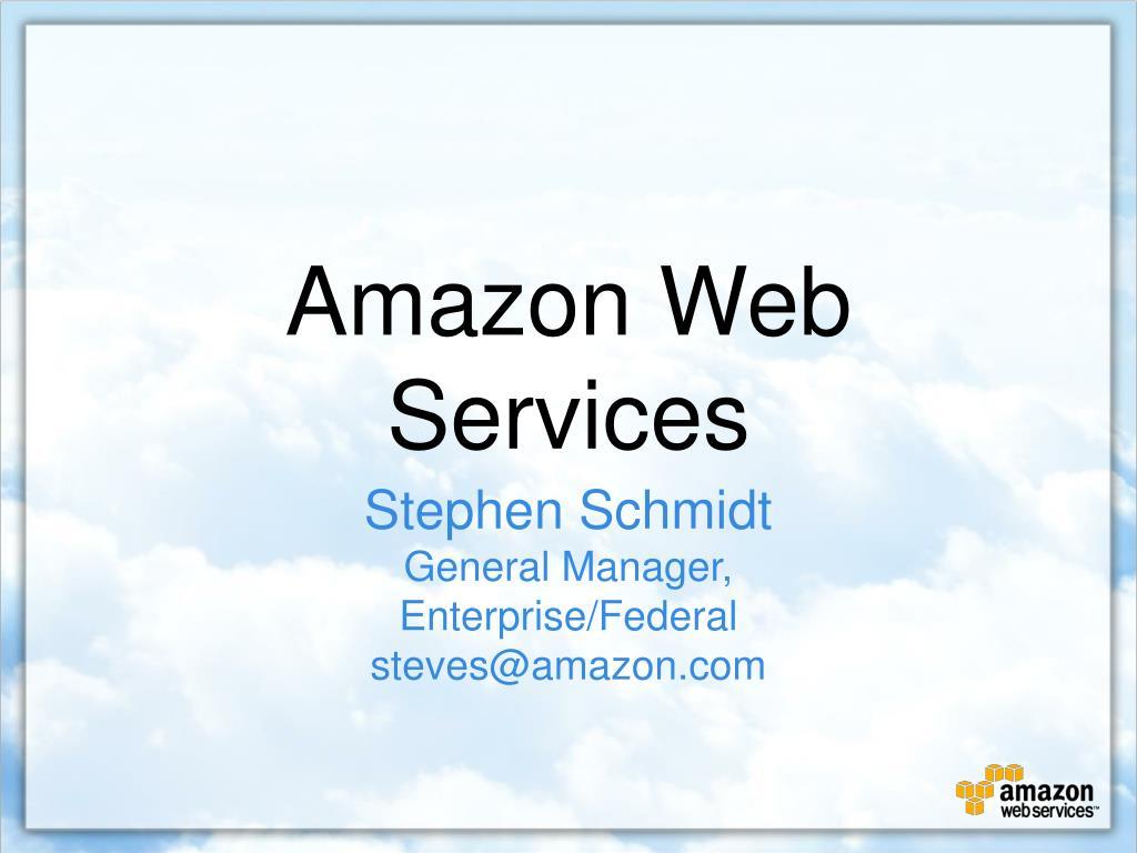 amazon web services l.