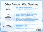 other amazon web services