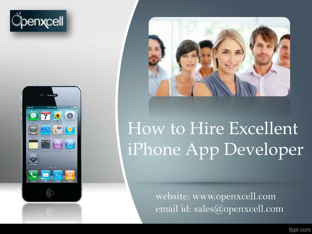 how to hire excellent iphone app developer l.