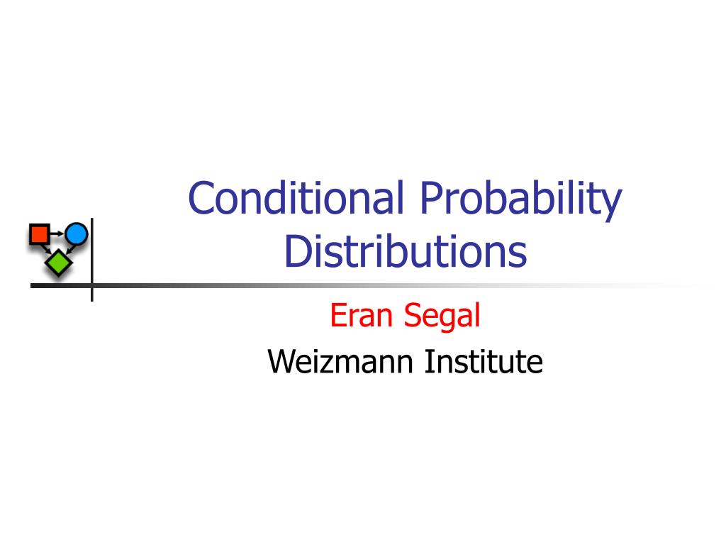 conditional probability distributions l.