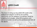 leed credit
