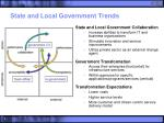 state and local government trends
