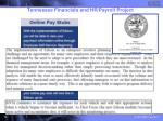 tennessee financials and hr payroll project