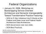 federal organizations14