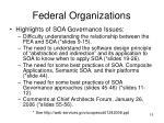 federal organizations15