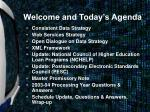 welcome and today s agenda2