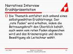 narratives interview erz hlpr sentation