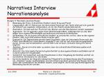 narratives interview narrationsanalyse44