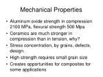 mechanical properties77