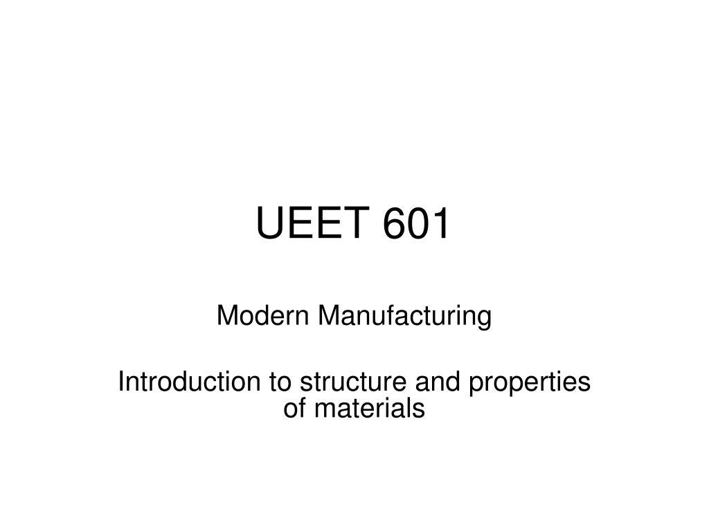 ueet 601 l.